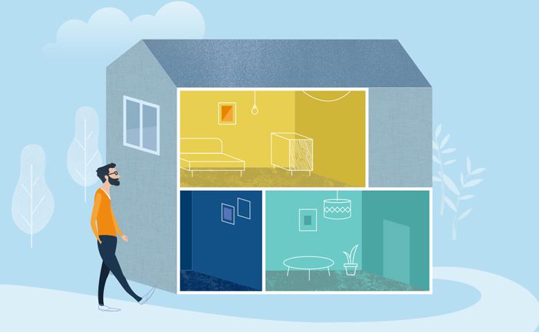 Somfy products illustration